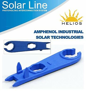 Crimp Tool Hand Amphenol H4 Pv Panel Mount Connectors Wrench And Disconnect