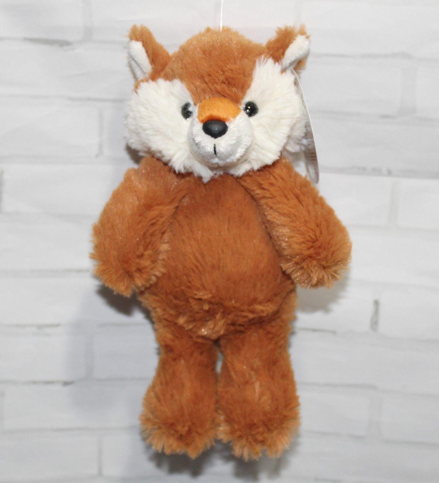 "Aurora Cuddly Friends FOX 8"" Plush Floppy Stuffed Animal NEW"