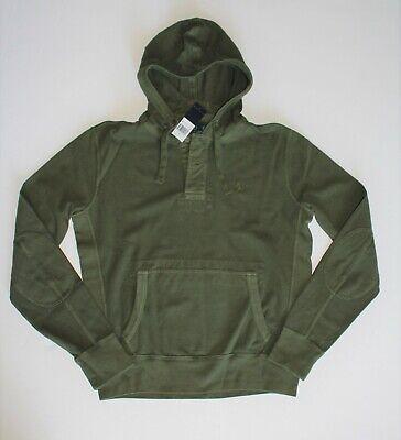 - Polo Ralph Lauren Men's Cotton Mesh Lightweight Pullover hoodie in Size Small