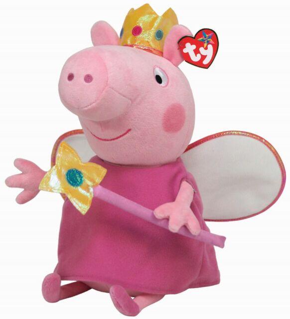 Ty Beanie Babies 96234 Peppa Pig Princess Buddy