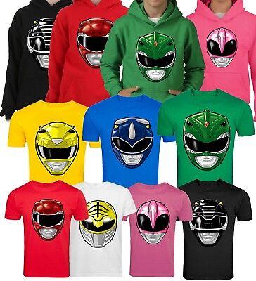 Power Ranger Fancy Dress (GO GO POWER RANGERS FANCY DRESS KIDS AND ADULTS PICK YOUR RANGER T)