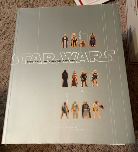 Star Wars The Action Figure Archive 1999 Chronicle Books Excellent Condition
