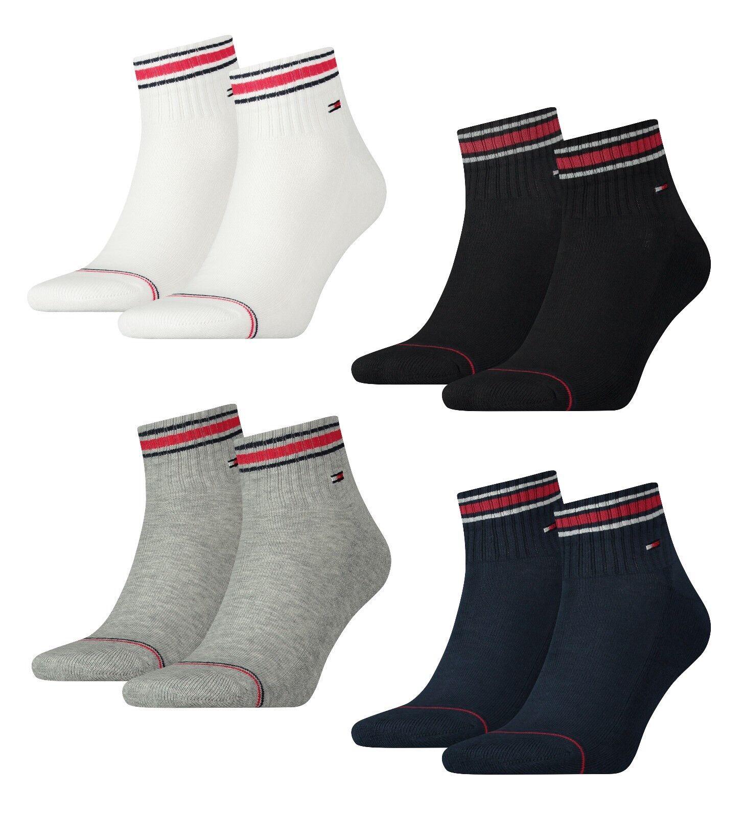 TOMMY HILFIGER - Herren Quarters > Sport Socken > Frotteesohle > 4er Pack *