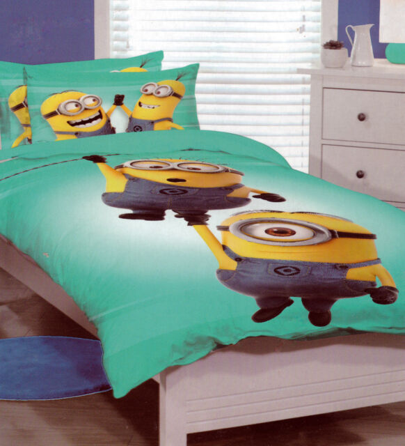 Dispicable Me The MINIONS SINGLE Duvet/Doona/Quilt Cover SET BNIP