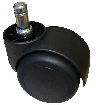 Pu Rubber Casters For Office Chair Use On Laminate Hard Or Soft Wood 5 Pc Set