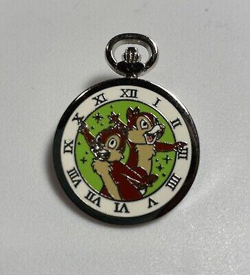Disney Pocket Watch Pocketwatch Chip and Dale Disney Pin - 2015
