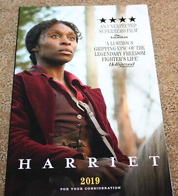 Harriet Script Fyc For Your Consideration Best Original Screenplay