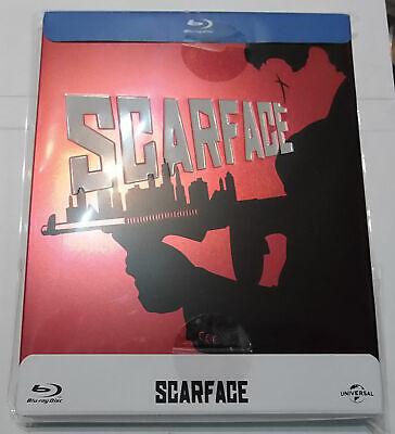 Scarface  (Region B import)(new)(Blu Ray Steelbook)