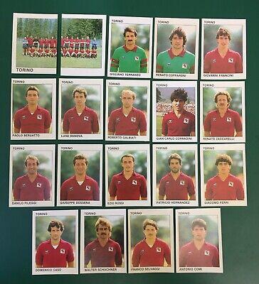LOTTO DI 19 FIGURINE ALBUM CALCIATORI CALCIO FLASH 84 1983-84 TORINO COMPLETA