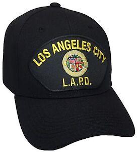 Los Angeles Police Department LAPD Hat Black Ball Cap