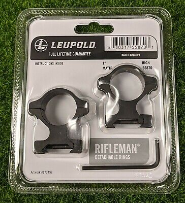 Nouveau Leupold QRW2 Scope Rings 1-in basse GLOSS 174064