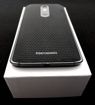 Motorola Droid Turbo 2 - 32GB - Black Soft Grip Smartphone