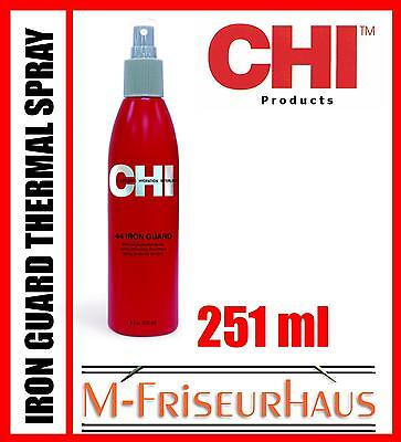 (€46,30/1L) CHI 44 FAROUK Iron Guard Hitzeschutz Spray für Glätteisen 251ml