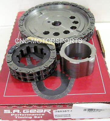 S.A. GEAR 78535T-9 Engine Timing Set LS2 6.0L U 2007-2010, LS3 6.2L 2008