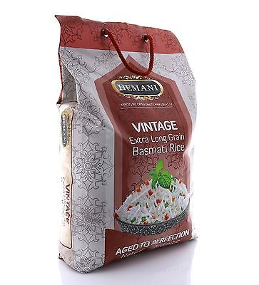 Hemani 100% Natural Vintage Ex Long Grain Basmati Rice 10lbs *US Seller* F/S !!