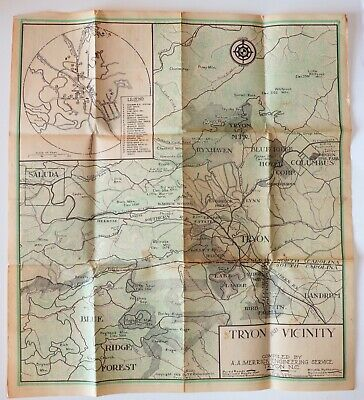 Mountain region of North Carolina and Tennessee c1863 map 32x20