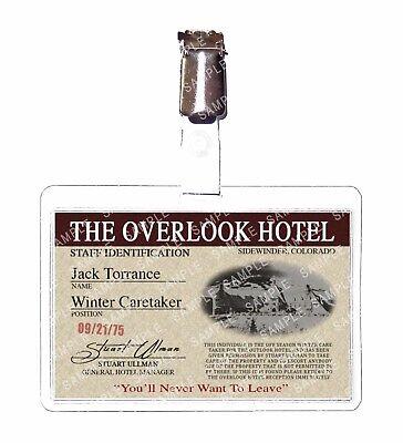 The Shining Jack Torrance Caretaker Outlook Hotel Prop Comic Con Halloween ()