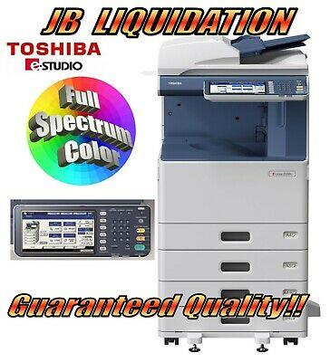 Toshiba 3555c Color Copier Network Printer Scanner E-studio Office Copy Machine