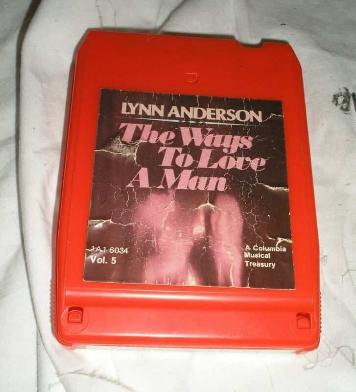 Lynne Anderson - The Ways To Love A Man - Volume 5 - 8 Eight Track Tape