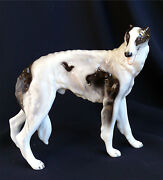Borzoi Dog Figurine