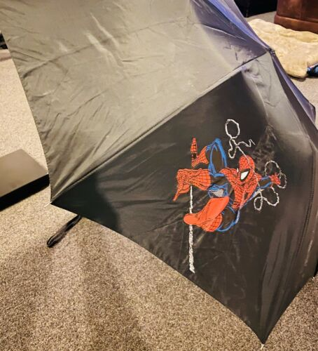 Marvel Enterprises Spiderman Umbrella Black