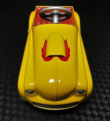 Pedal Car 1940S Ford Hot Rod Drag Race Vintage Yellow Show Dragster Midget Model