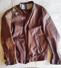 Massimo Dutti leather jacket Marmion Joondalup Area Preview