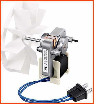 Bathroom Vent Fan Motor Blower Wheel Replacement Electric Motors Kit Compatibl