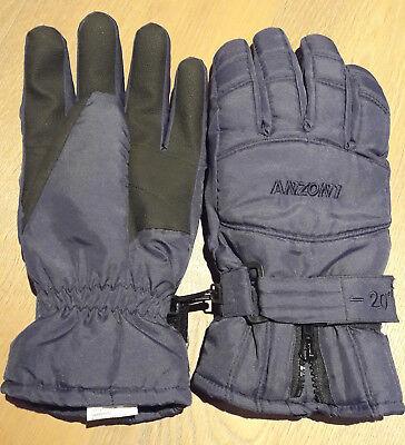 Anzoni -20° Handschuhe Männer Gr. L 9 Thinsulate Thermal Insulation blau
