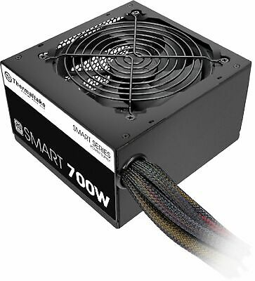 Thermaltake - SMART 700W ATX 80 Plus Power Supply - Black