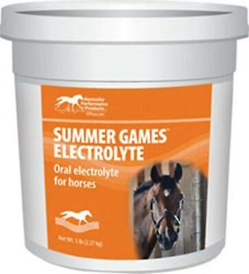 Kentucky Performance Products Summer Games Electrolyte Horse Supplement, 5 Po...