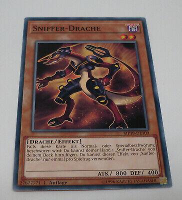 Yu-Gi-Oh Karte - Sniffer-Drache - Drache / Effekt - braun - Yugioh Neu