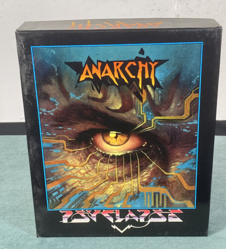 Computer Games - Commodore Amiga Anarchy AS-IS PC Computer Video Game w/ Box & Manual