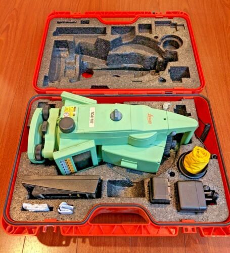 "Leica TCA1102 2"" Robotic Total Station"