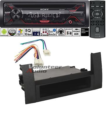 Sony Car Radio Stereo CD Player Dash Install Mounting Kit Harness