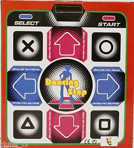 PlayStation Dance Mat PS1 PS2 Dancing Step Retro Gaming PSX New Boxed