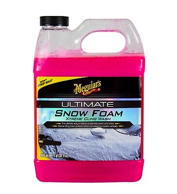 MEGUIAR'S MEGUIARS Ultimate Snow Foam Xtreme Cling Wash Auto Shampoo 946 ml