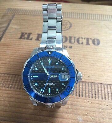 Invicta Grand Diver Model 23151 38mm Thin Blue Line