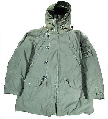 US Military USAF N3-B Extreme Cold Weather Parka Small Regular