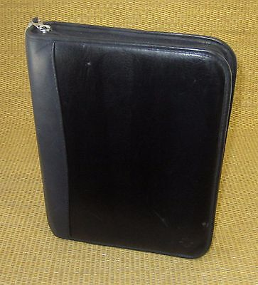 Classic 1.5 Rings Black Sim. Leather Franklin Covey Plannerbinder
