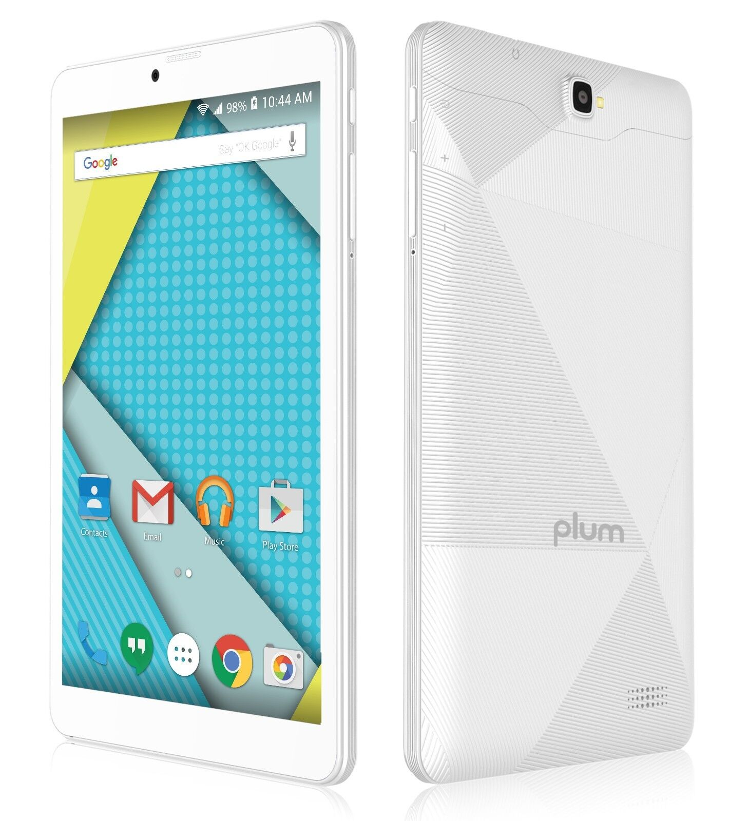 """Android Phone - Plum Optimax 8"""" Tablet Phone 4G GSM Unlocked Android Phablet ATT Tmobile Metro"""