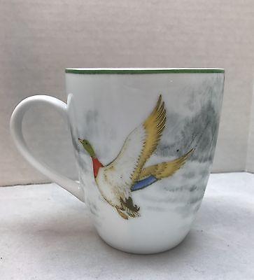 Kaffeetasse Tasse Wild Stockente Ente Im Flug Porzellan Burton & Burton 4