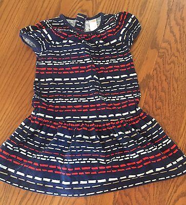 Gymboree Prep Perfect 5 Dress Girls Retail Blue