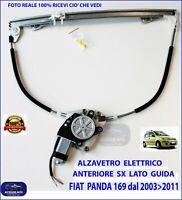 ALZAVETRI ALZACRISTALLI ELETTRICO ANTERIORE ANT SX FIAT PANDA 03/>11 2003/>2011 5P