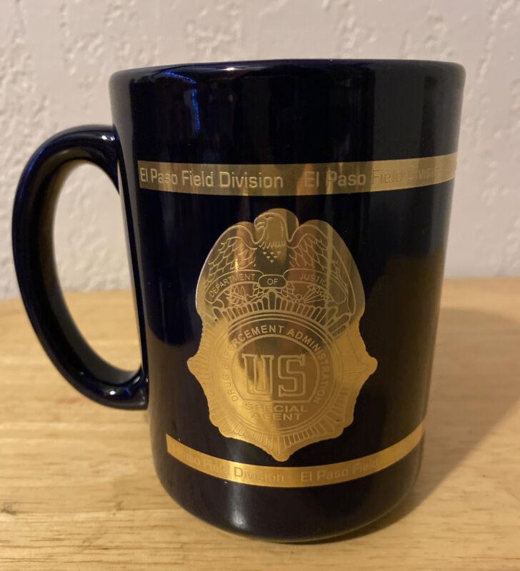 Deparment of Justice DOJ Drug Enforcement Admin DEA Special Agent Coffee Mug