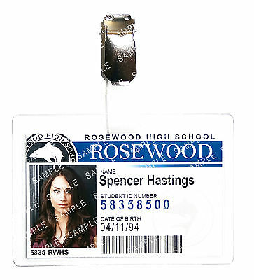 Pretty Little Liars Spencer Hastings Cosplay Prop Costume Comic Con Halloween - Halloween Costume Pretty Little Liars
