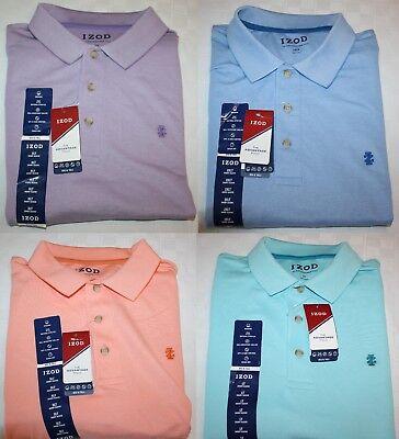 IZOD Advantage Polo Men's Big & Tall Shirt NWT Wicking Stretch UPF-15 Quick (Big And Tall Quick Dry Polo Shirts)