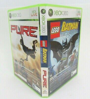 Usado, Lego Batman / Puro Xbox 360 Dos Juegos Combo Completo Probado Y Funciona segunda mano  Embacar hacia Spain