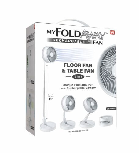 My FoldAway Rechargeable Fan