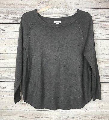Anna Rose - Anna Rose Women's Gray Long Sleeve Sweater Size Medium NWT